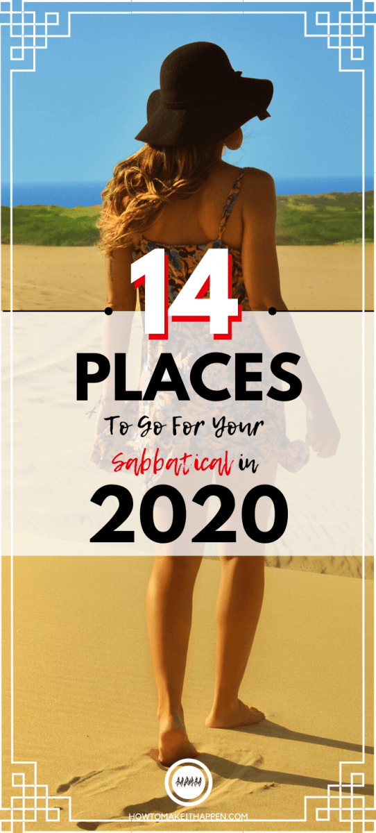14 places for your sabbatical