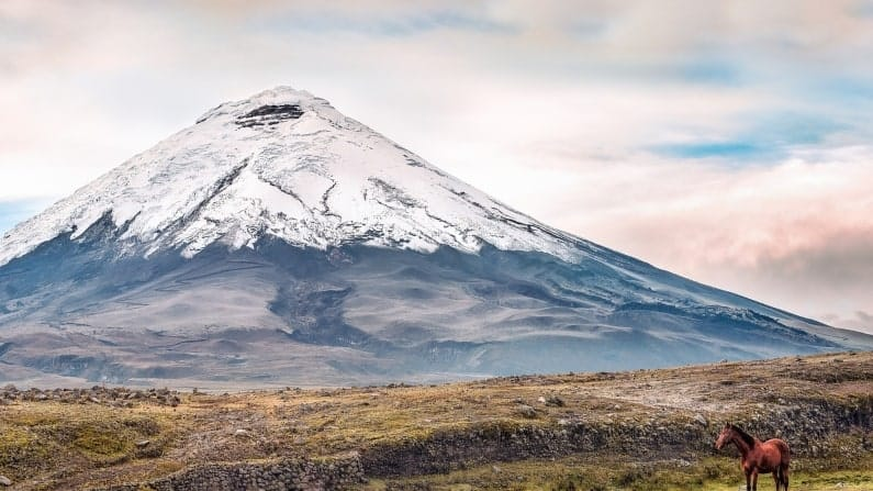 Places to be in AWE in front of nature: Cotopaxi, Ecuador