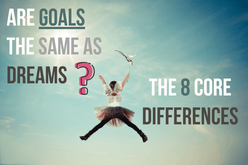 Are Goals the same as dreams