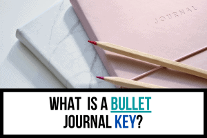What is a Bullet Journal Key?